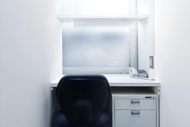 1名用のお部屋 - レンタルオフィス