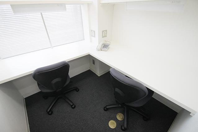 2名用のお部屋 - レンタルオフィス
