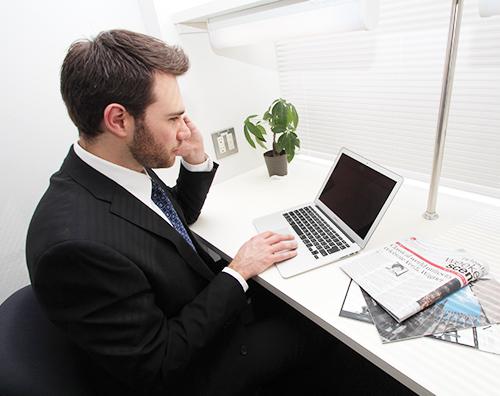 ビジネスに専念できる快適な環境をご提供いたします。